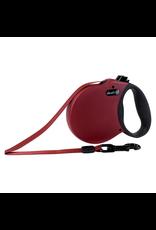 ALCOTT Adventure Retractable Leash - Red - Small