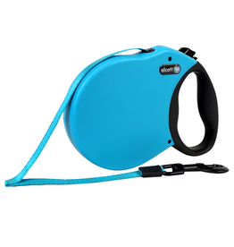 ALCOTT (W) Adventure Retractable Leash - Blue - Small
