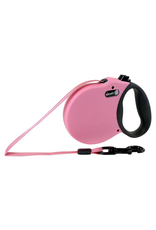ALCOTT (W) Adventure Retractable Leash - Pink - Large