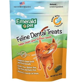 EMERALD PET (W) Cat Dental Treat 3oz - Tuna