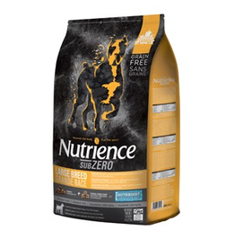 NUTRIENCE Nutrience Grain Free Subzero for Large Breed Dogs - Fraser Valley - 10 kg (22 lbs)