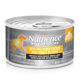 NUTRIENCE Nutrience Infusion Pâté with Free Range Chicken - 170 g (6 oz)