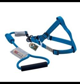 ARISTA (D) Arista Round Harness & Leash Set - Large - Deep Blue