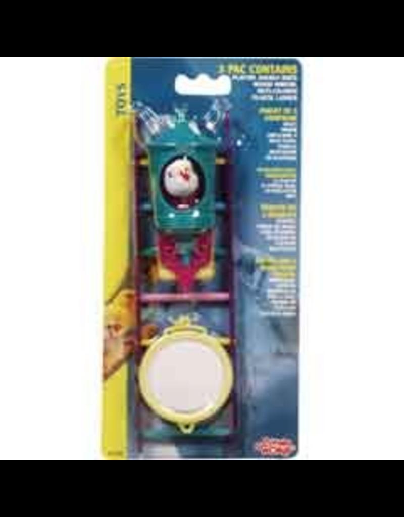 LIVING WORLD LW Bird 3 Toys Assortment#2,Value Pack-V