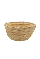"LIVING WORLD Living World Bamboo Bird Nest for Canaries - 11 cm x 5.5 cm (4.3"" x 2.2"" in)"
