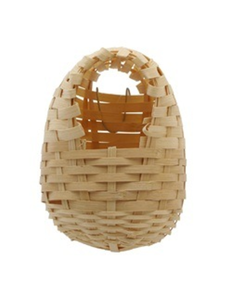 LIVING WORLD LW Bird Nest, Bamboo, Large