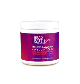 BRAD PATTISON (W) Brad Pattison Pain, Inflammation Hip & Joint Care Soft Chews - 75 g