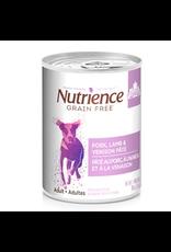 NUTRIENCE Nutrience Grain Free Pork, Lamb & Venison Pâté - 369 g