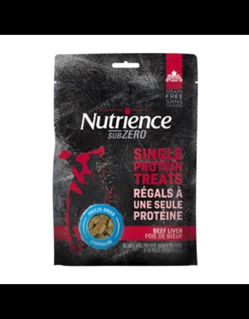 NUTRIENCE Nutrience Grain Free Subzero Freeze Dried Single Protein Treats - Beef Liver - 70 g (2.5 oz)