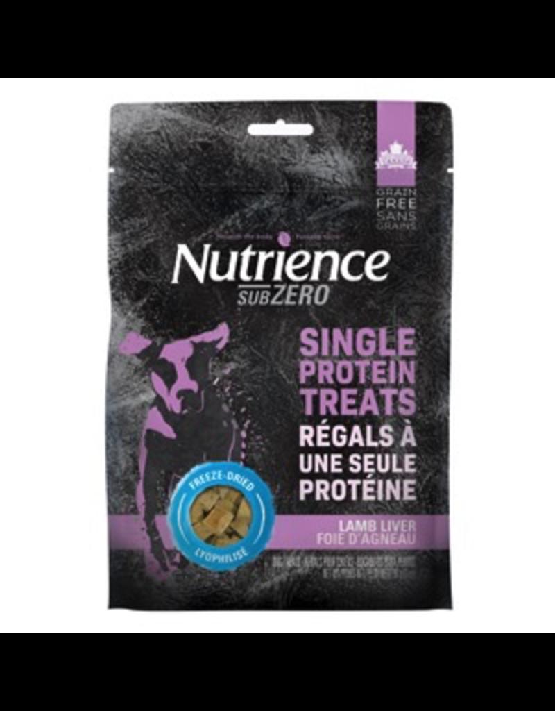 NUTRIENCE Nutrience Grain Free Subzero Freeze Dried Single Protein Treats - Lamb Liver - 70 g (2.5 oz)