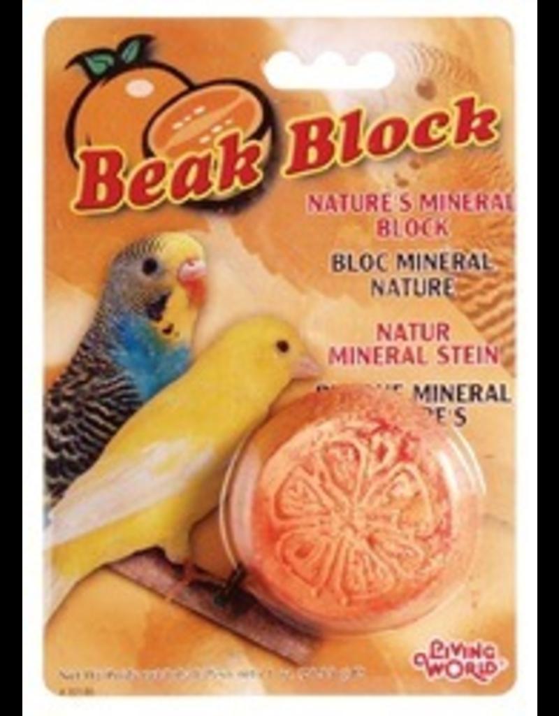 LIVING WORLD LW Mineral Block- Orange