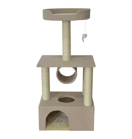 ANIMAL TREASURES Cat Tree Scratcher - Condo - 42""