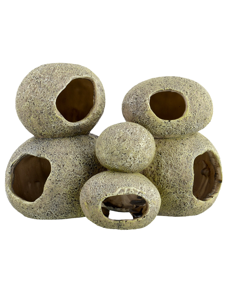 UNDERWATER TREASURES Pleco Cave - Multi-Stone