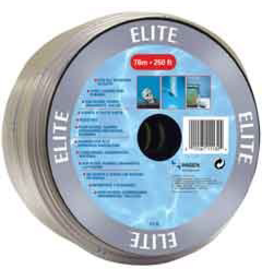 ELITE Marina Air Tubing 4x6mm(Dia) clear- sold by foot