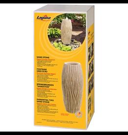 "LAGUNA (D) Laguna Elegant Fountain Ornament - Sand Stone/ Water Ripple - 60.5 cm x 26.5 cm (23.8"" x 10.4"")"