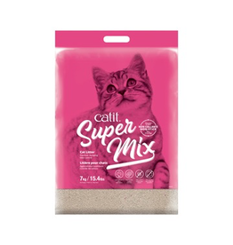 CAT IT Catit Super Mix Cat Litter PINK - 7 kg (15.4 lbs)