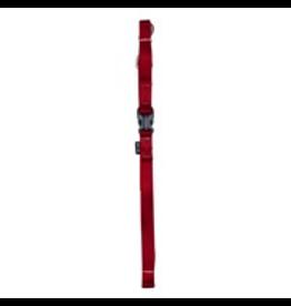 ZEUS Zeus Nylon Lead 1.8m Lg Deep Red