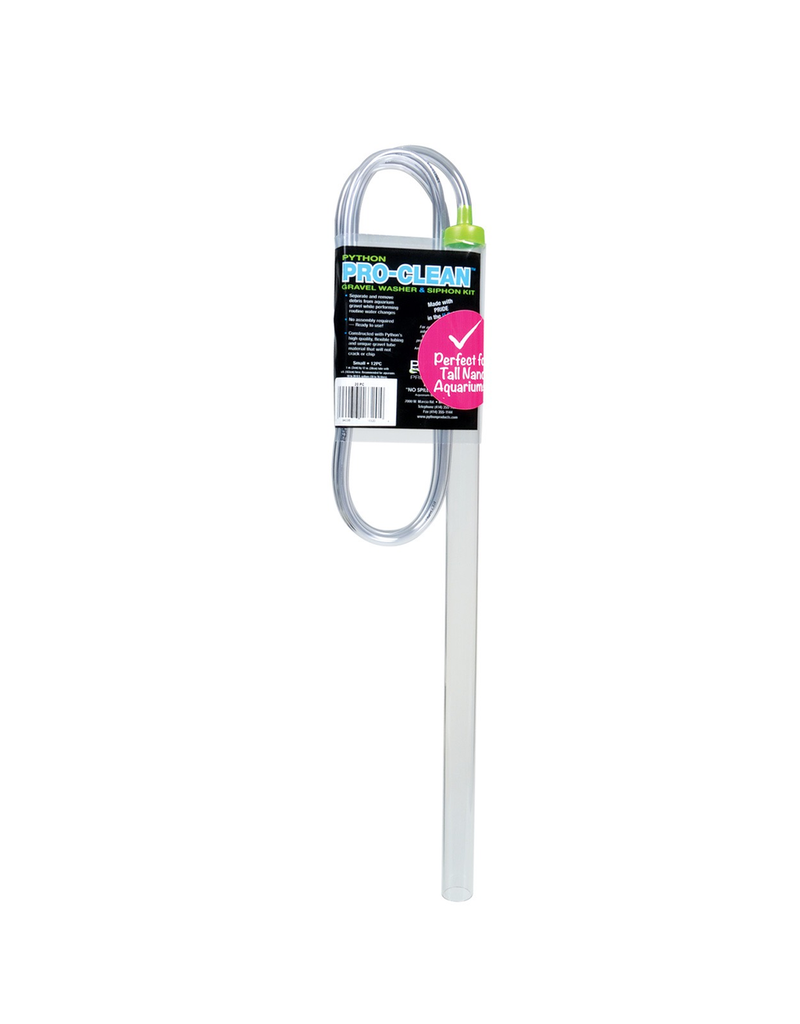 PYTHON Pro-Clean Gravel Washer & Siphon Kit - Small/Tall