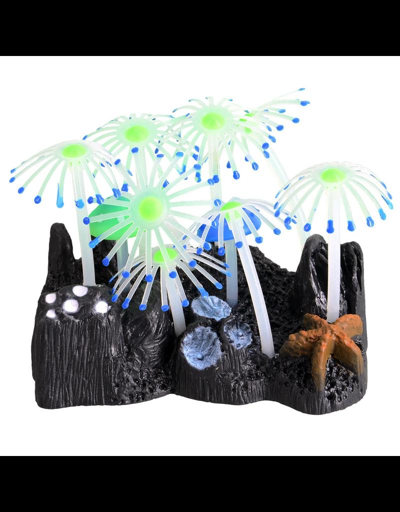 UNDERWATER TREASURES Glowing Mushroom Garden - Blue
