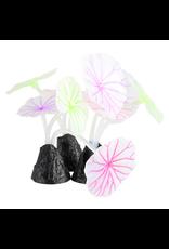 UNDERWATER TREASURES Underwater Treasures Glowing Lotus Leaf - 3 pk