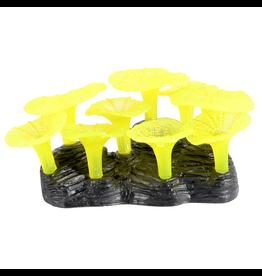 UNDERWATER TREASURES (D) Glowing Mushroom Reef - Yellow