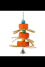 ANIMAL TREASURES AT Birdie Jingle Pumpkin Sponge Spinner