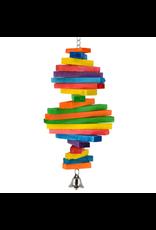 ANIMAL TREASURES AT Birdie Jingle Rainbow Spiral