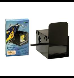 "HAGEN Hagen Parakeet Nest Box - Black - 22 x 13.2 x 13.2 cm (8 5/8"" x 5 1/4"" x 5 1/4"")"