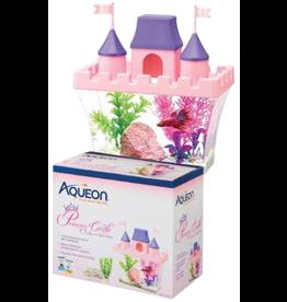 AQUEON AQ Betta Princess Castle Aquarium Kit