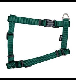 "ZEUS Zeus Nylon Dog Harness - Forest Green - Large - 2 cm x 45-70 cm (3/4"" x 18""-27"")"