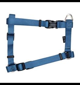 "ZEUS Zeus Nylon Dog Harness - Denim Blue - Large - 2 cm x 45-70 cm (3/4"" x 18""-27"")"