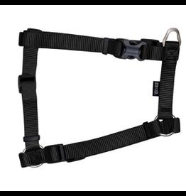 "ZEUS Zeus Nylon Dog Harness - Charcoal - XLarge - 2.5 cm x 61-100 cm (1"" x 24""-39"")"