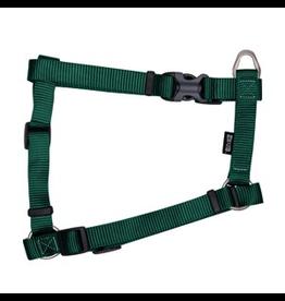 "ZEUS Zeus Nylon Dog Harness - Forest Green - XLarge - 2.5 cm x 61-100 cm (1"" x 24""-39"")"