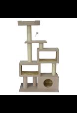 "ANIMAL TREASURES Cat Tree Scratcher - Tower Condo - 51"""