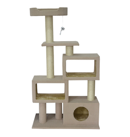 ANIMAL TREASURES Cat Tree Scratcher - Tower Condo - 51""