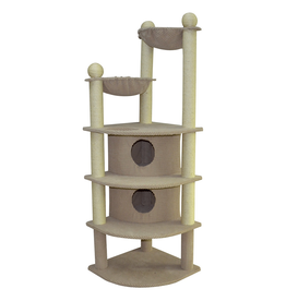ANIMAL TREASURES (W) Cat Tree Scratcher - Skyscraper - 66""