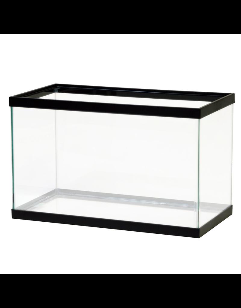 AQUEON (W) Aqueon Standard Aquarium - Black Frame - 10 gal - Clear Silicone