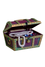 PENN PLAX PP ORNAMENT TREASURE CHEST SM