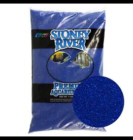 ESTES Stoney River Premium Aquarium Sand - Blue - 5 lb Stoney River Premium Aquarium Sand - Blue - 5 lb
