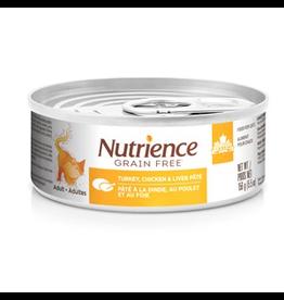 NUTRIENCE Nutrience Grain Free Turkey, Chicken & Liver Pâté - 156 g