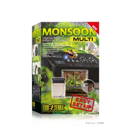 EXO TERRA (W) Exo Terra Monsoon Multi High Pressure Misting System