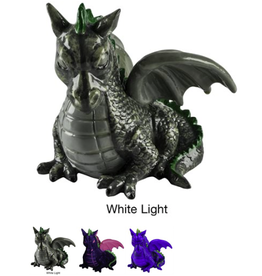 GLO FISH GloFish Color-Changing Dragon Ornament Medium