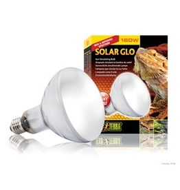 EXO TERRA Ext Terra Solar Glo Hi UV&Ht.110V 160W-V