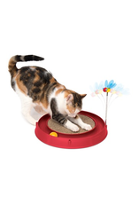 CAT IT Catit Play-Scratch Pad, Bee, and Ball-Red