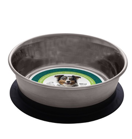 DOG IT (W) Dogit Stainless Steel Non-Skid Stay-Grip Dog Bowl - 900 ml (30.5 fl.oz.)