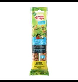 LIVING WORLD Living World Canary Sticks - Vegetable Flavour - 60 g (2 oz), 2-pack