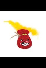 CAT IT (W) Catit Play Pirates Catnip Toys - Plush Gold Pouch