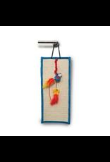CAT IT (W) Catit Play Pirates Door Hanger with Catnip - Parrot and Star