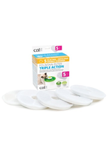 CAT IT (W) Catit Triple Action Fountain Filter - 5 pack
