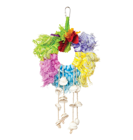 PREVUE PET PH Calypso Creations Ropes & Shell Ring - Multi-color